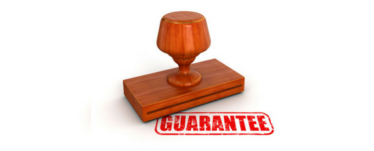 The Power Of A Guarantee